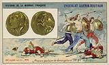 Gallic coins of Vercingetorix, 52 BC
