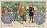 Silver gros tournois of St Louis, 1226