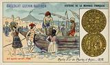 Gold carlin of Charles of Anjou, 1278