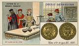Gold teston of Louis XII, 1500