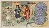 Quarter ecu of Louis XIV, 1711
