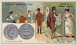 Silver half franc, 1808