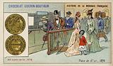 Gold 5 franc piece, 1876
