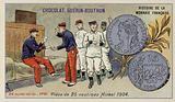 Nickel 25 centimes piece, 1904