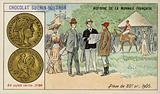 Gold 20 franc piece, 1905