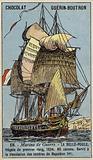 French frigate Belle Poule, 1834