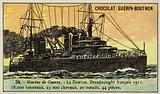 French battleship Danton, 1911