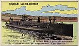 French submarine Gustave Zede, 1913