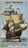 Caravel of Christopher Columbus, 15th Century
