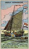 Dutch merchant sloop, 18th Century