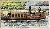 Parisian bateau-mouche, 1867