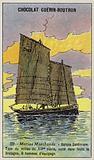 Breton sardine fishing boat, mid 19th Century