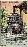 American riverboat, 1858