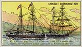 Germania and Hansa, ships of Carl Koldewey's German North Polar Expedition, 1869-1870