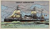 Canada, French steamship of the Compagnie Generale Transatlantique, 1874
