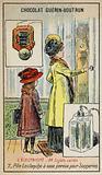 Leclanche cell for doorbells