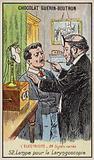 Lamp for performing a laryngoscopy