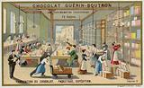 Chocolate manufacturing. Packing and shipping.