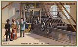 Wool industry. Washing