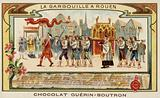 Commemorating the deliverance of Rouen from the Gargouille by St Romanus