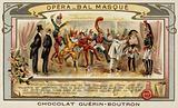 Masked ball at the Opera, Paris