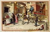 Milkman's wagon