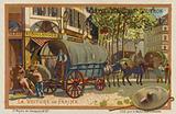Flour wagon