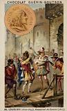 Louis III of France and the assassination of Concino Concini, Marquis d'Ancre, 1617