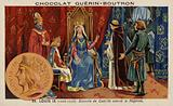 Blanche of Castile acting as regent for her son, Louis IX of France, 13th Century