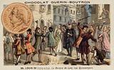 John Law's Banque Generale, Rue de Quincampoix, Paris, 18th Century
