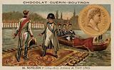 Napoleon meets Alexander I of Russia at Tilsit, 1807