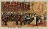 Tsar Nicholas II of Russia visiting Paris, 1896