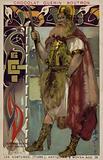 Saxon warrior chieftain