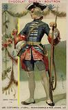 Soldier of the Gardes Francaises (French Guards), 1774