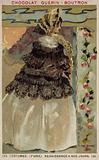 Parisian fashion, 1855