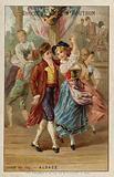 Cockerel dance, Alsace