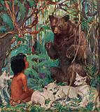 Rudyard Kipling's Mowgli