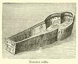 Exterior coffin