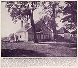 """House in which """"Stonewall"""" Jackson died, near Richmond, US"""