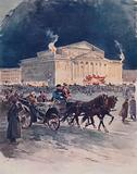 The Imperial Opera House after a Gala Performance