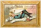 Child lying on a bearskin rug