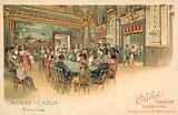 Gaming room, Monte Carlo, Monaco