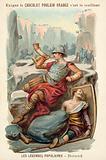 The death of Roland at Ronceveaux, 778