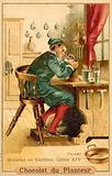 Stamp engraver, France, time of Louis XIV
