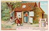 Hansel and Gretel: Hansel and Gretel find the gingerbread house