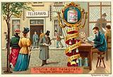 Modern electric telegraph
