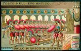 Pyrrhic dance, Sparta