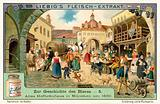 Old Hofbrauhaus in Munich, 1830
