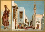 Fellah and a Cairo street