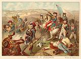General Jourdan at the Battle of Fleurus, 1794